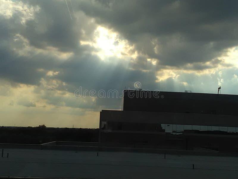 Die Himmel lizenzfreies stockbild
