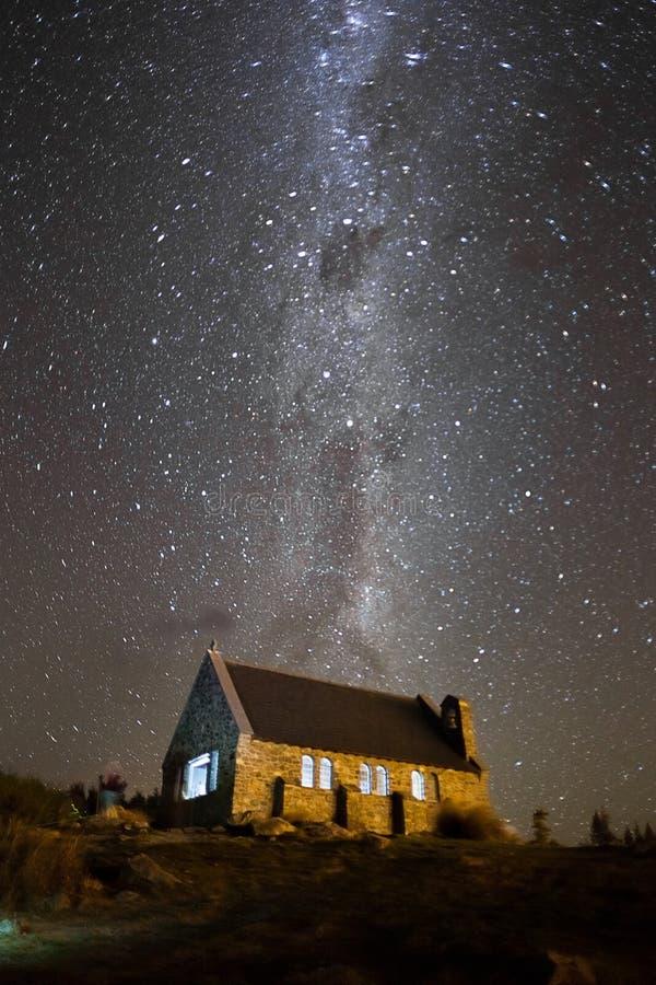 Die historische Kirche, Neuseeland lizenzfreie stockfotos