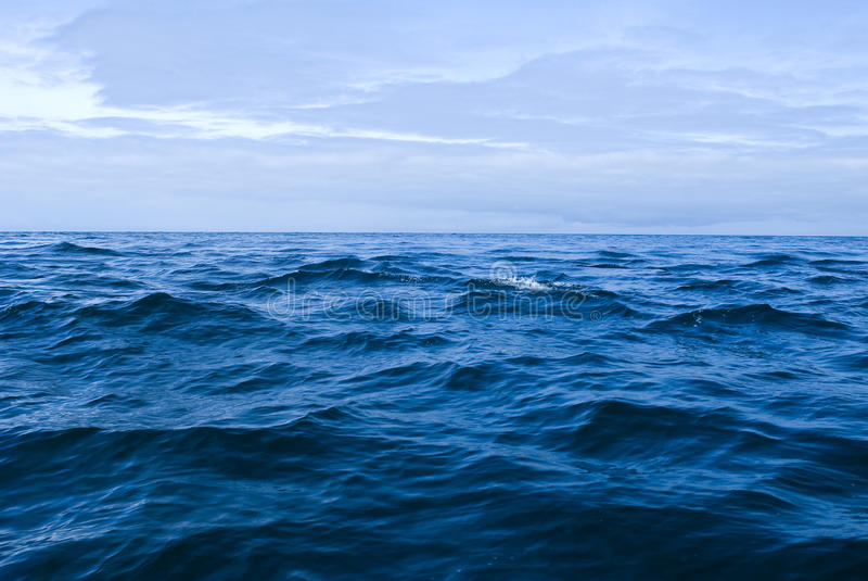 Die hohe See stockbilder