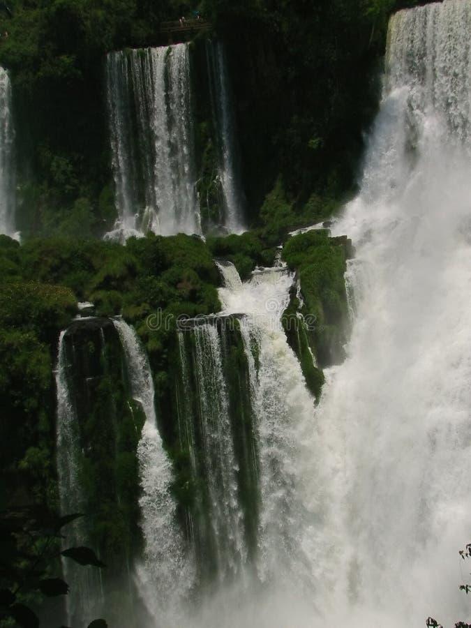 Die Iguazu-Wasserfälle im Norden von Argentinien stockfotografie