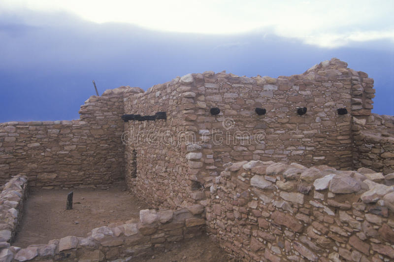 Die indischen Ruinen Anasazi, Blanding, UT lizenzfreie stockfotografie
