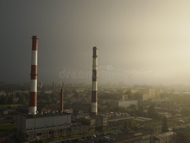 die industrielle Revolution lizenzfreie stockfotos