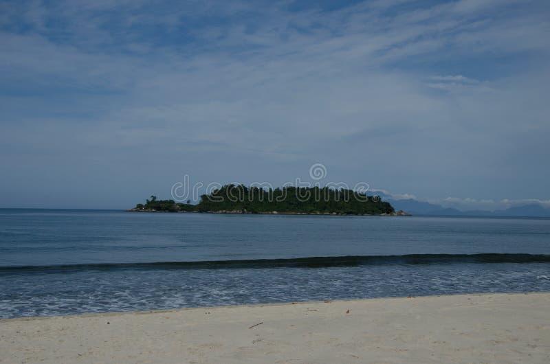 Die Insel lizenzfreies stockfoto