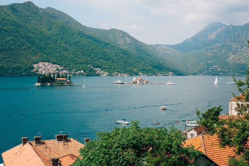 Download Die Insel Von Gospa Od Skrpjela, Kotor-Bucht, Montenegro Stockbild - Bild von schönheit, boot: 90235083