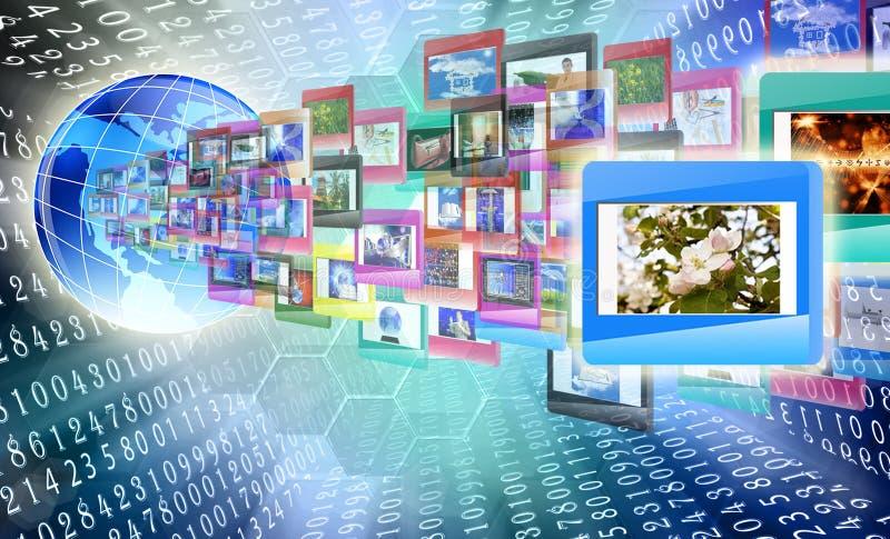 Die Internet-Ausbildung lizenzfreie stockfotos