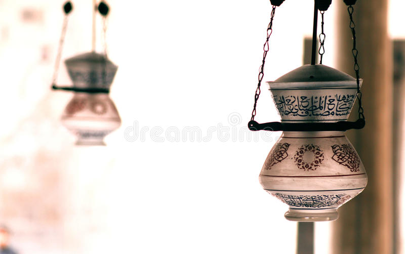 Die islamische Kunst lizenzfreies stockbild