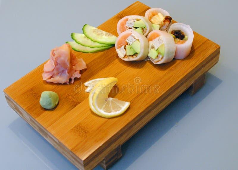 Die japanische Küche lizenzfreies stockfoto