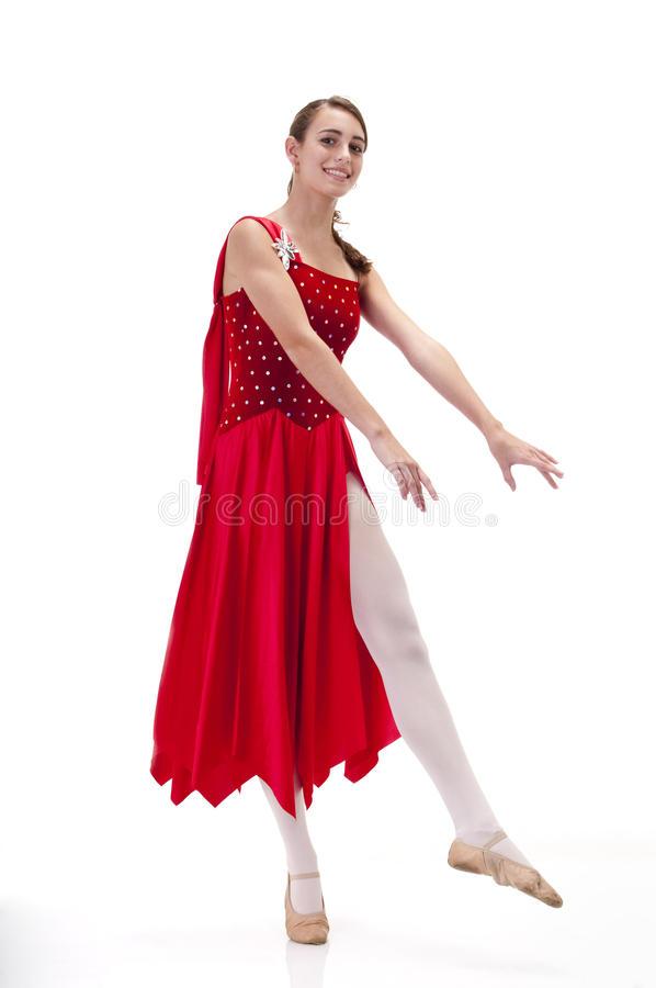 Die junge Ballerina lizenzfreie stockbilder