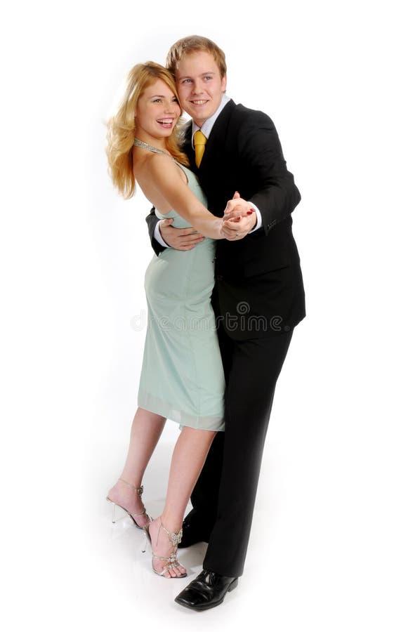 Die jungen attraktiven Paare lizenzfreies stockfoto