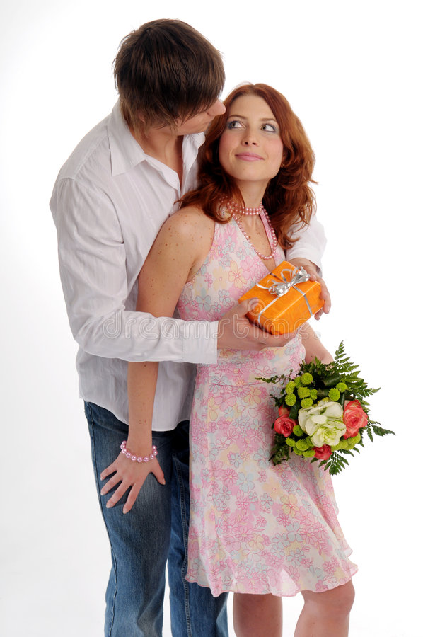 Die jungen Paare stockfotos