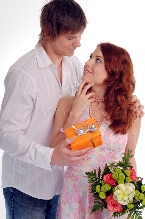 Die jungen Paare lizenzfreie stockfotografie