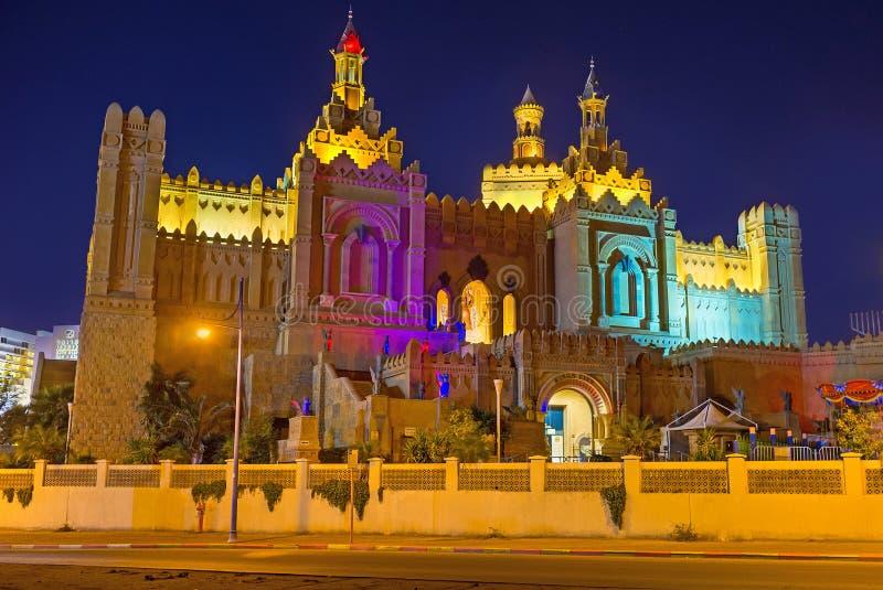 Die Könige City nachts stockfotografie