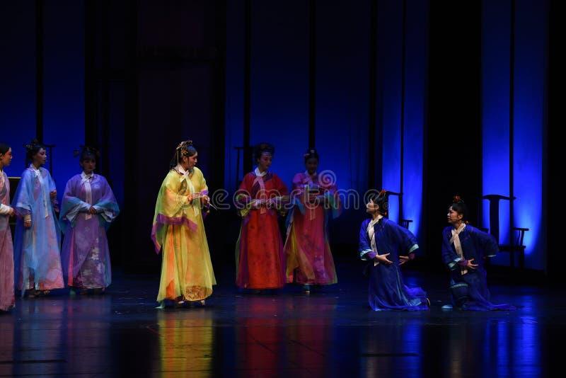 Die Königin ist der Meister der Tempel-Desillusionierung-modernen Drama Kaiserinnen im Palast lizenzfreie stockfotografie
