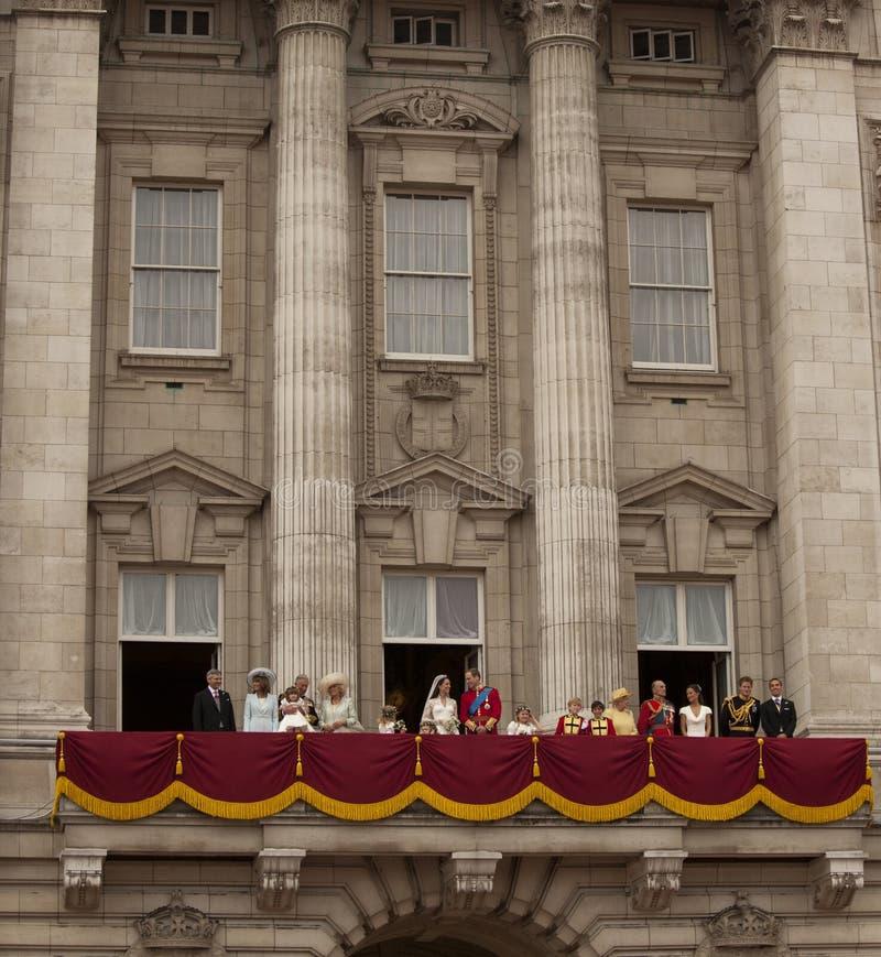 Die königliche Hochzeit lizenzfreie stockfotografie