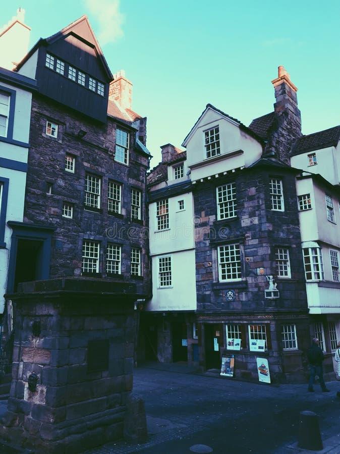 Die königliche Meile, Edinburgh stockfotos