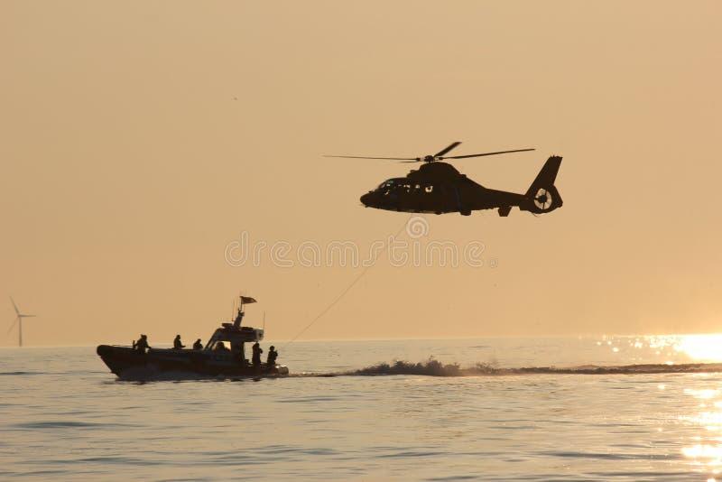 Die königliche niederländische Seenotrettungs-Institution lizenzfreies stockbild
