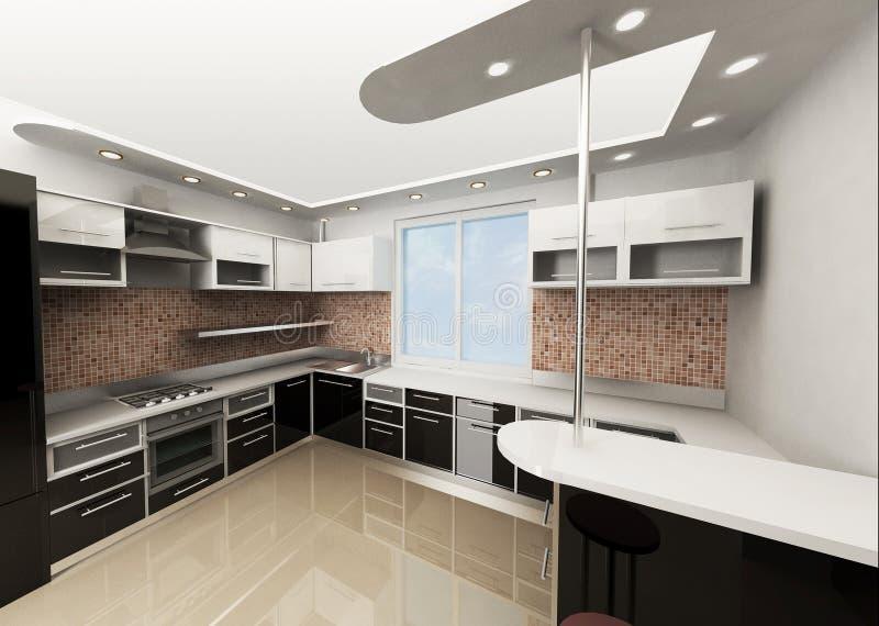 Die Küche stockfotografie