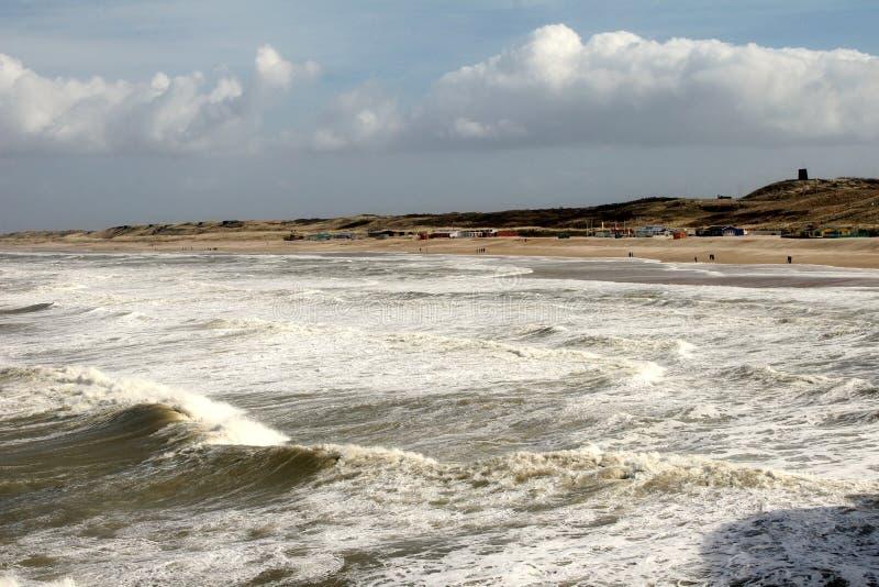 Die Küstenlinie stockbilder
