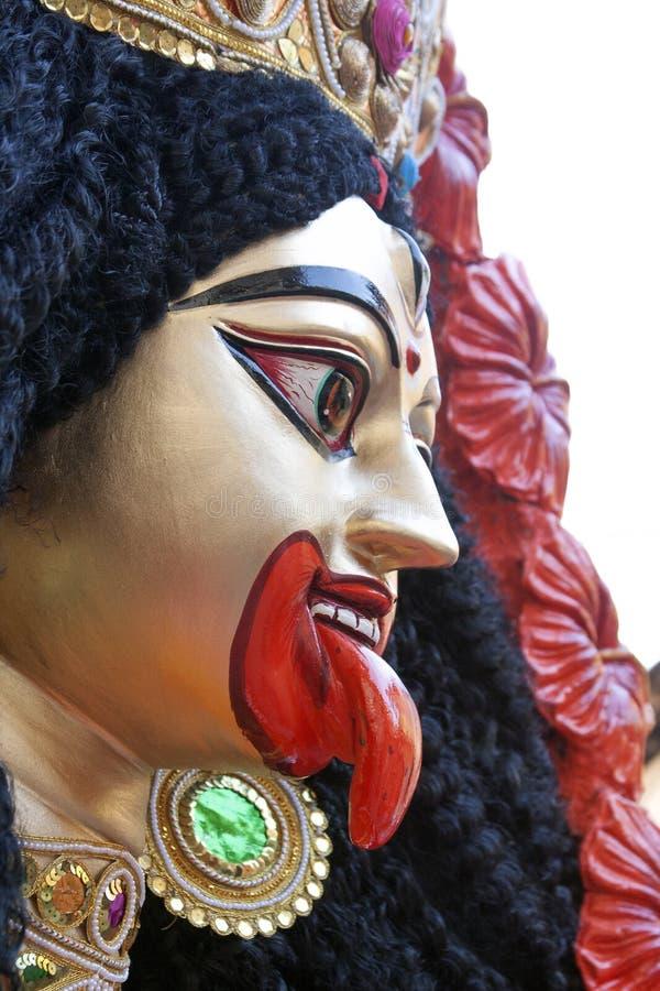 Die Kali Göttin stockbilder