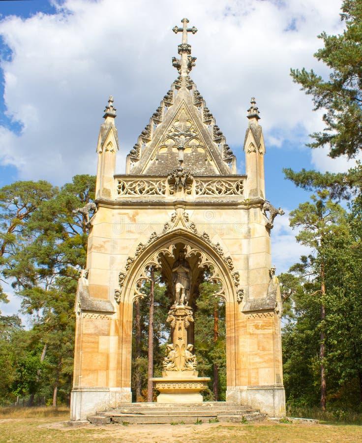 Die Kapelle des heiligen Hubert lizenzfreie stockfotos