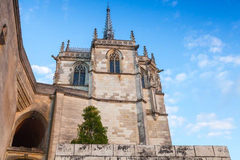 Die Kapelle von Heilig-Hubert, Frankreich lizenzfreie stockfotografie