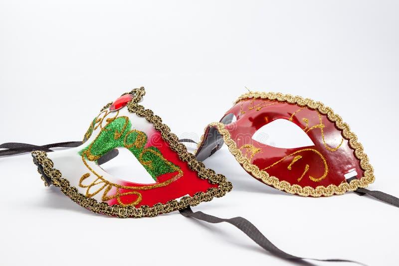 Die Karnevalsmaske stockfoto