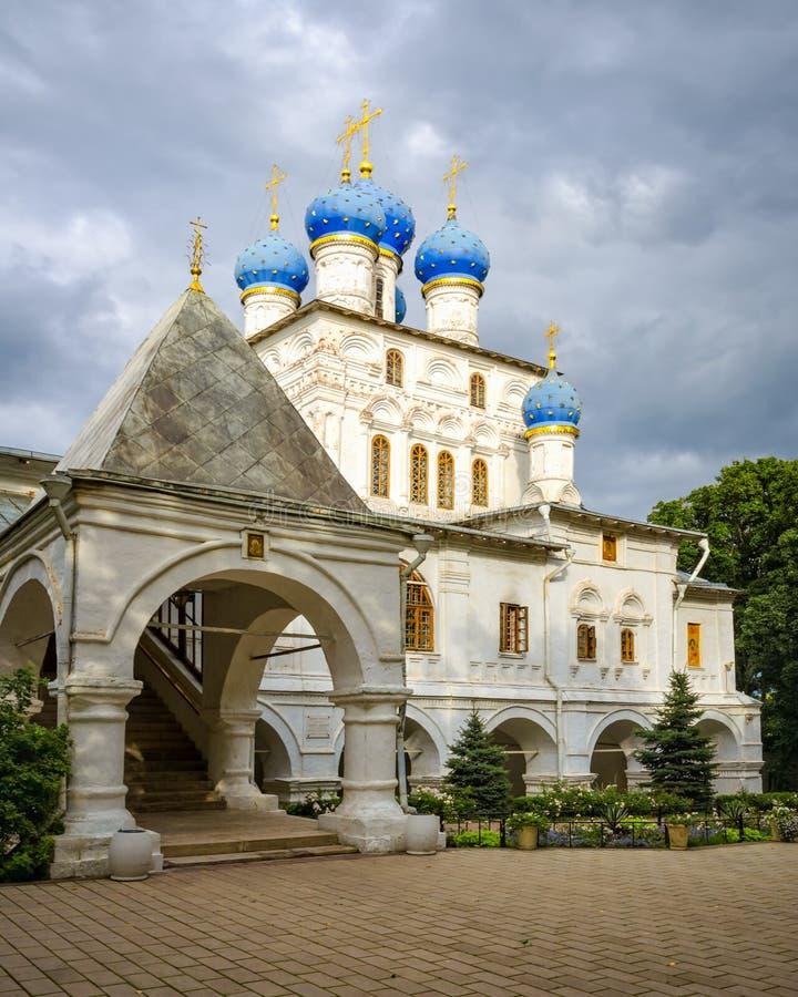Die Kasan-Kirche in Kolomenskoye, Russland lizenzfreie stockfotografie