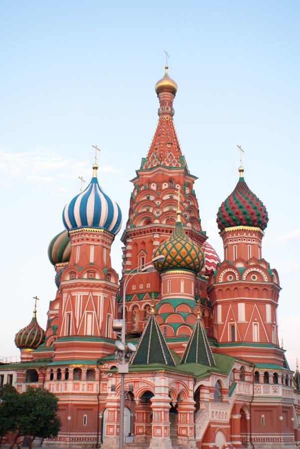 Die Kathedrale des Heilig-Basilikums stockbild