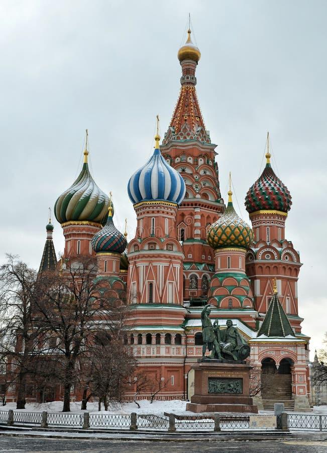 Die Kathedrale des Heilig-Basilikums, Moskau stockfotografie