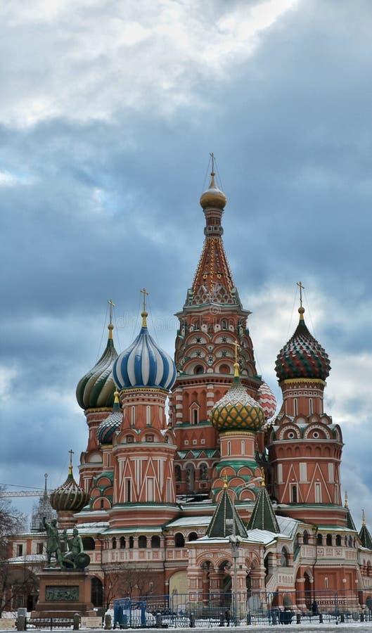 Die Kathedrale des Heilig-Basilikums, Moskau lizenzfreie stockfotografie