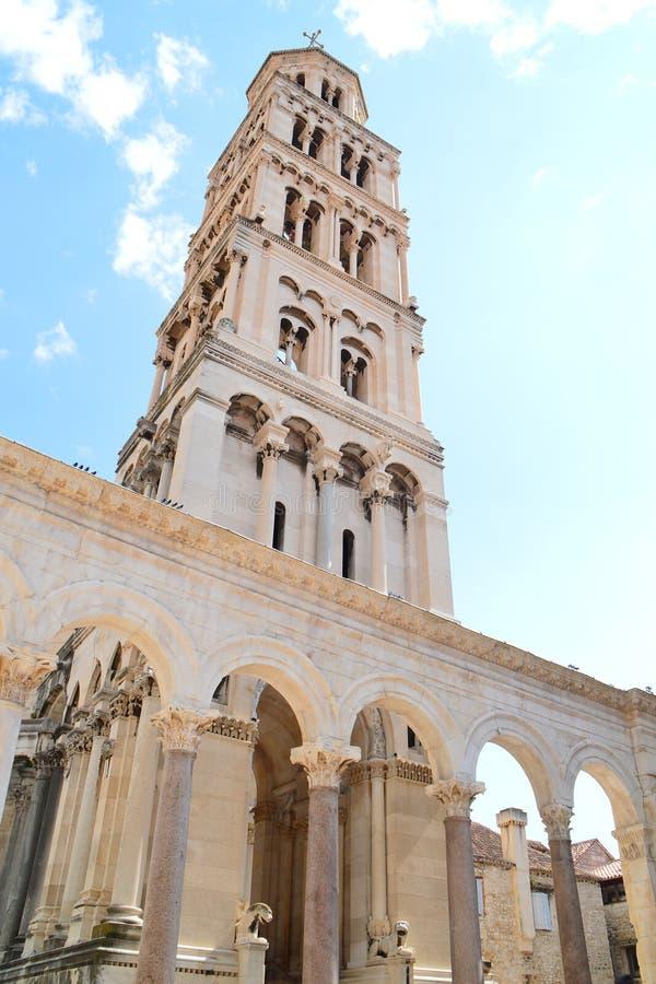 Die Kathedrale des Heiligen Domnius stockfotografie