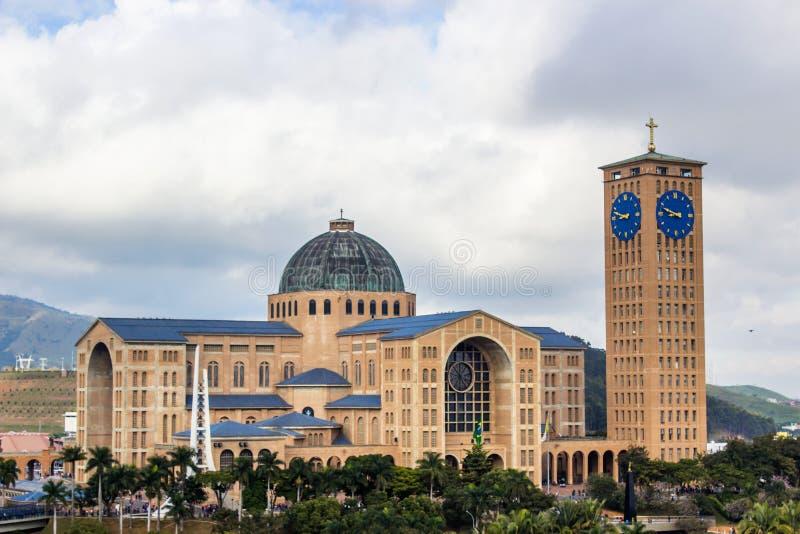 Die Kathedrale von Aparecida lizenzfreies stockfoto
