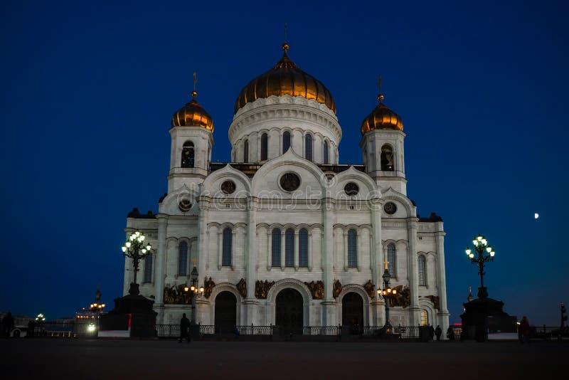 Die Kathedrale von Christ der Retter in Moskau, Russland stockfotografie