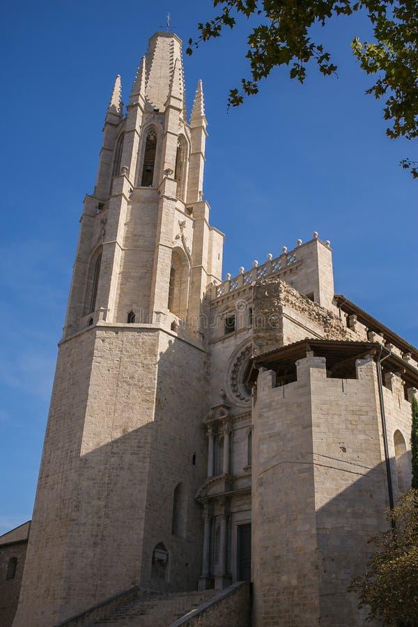 Die Kathedrale von Girona stockbild