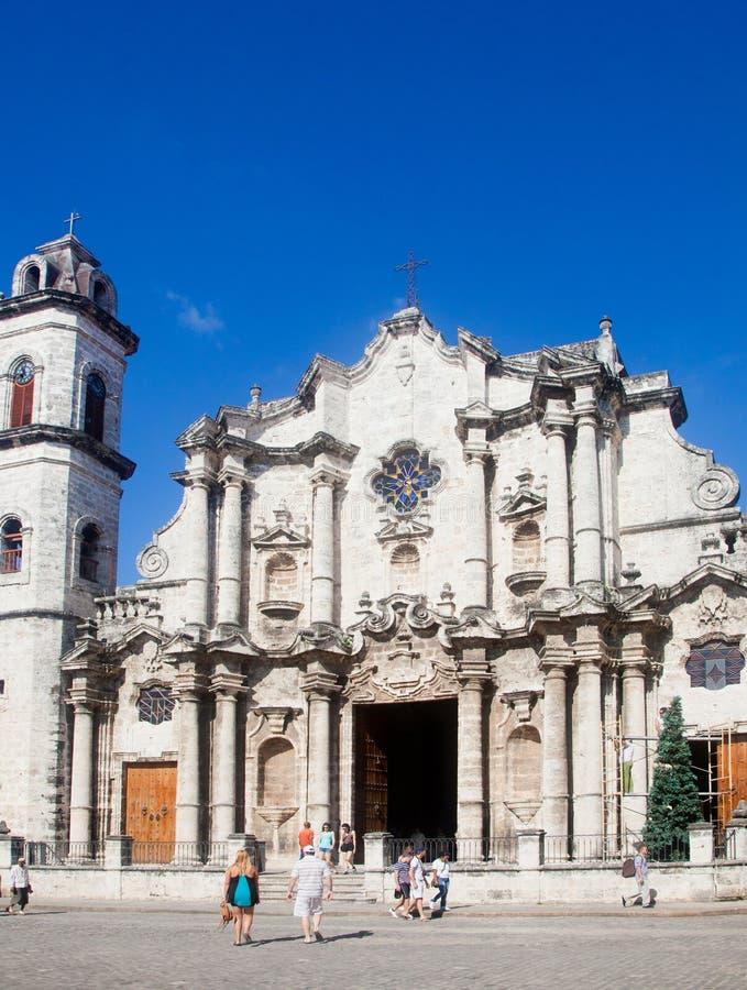 Die Kathedrale von Havana lizenzfreie stockfotografie