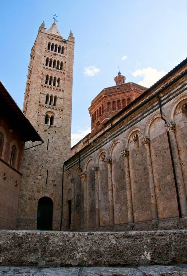 Die Kathedrale von Massa Marittima lizenzfreies stockfoto