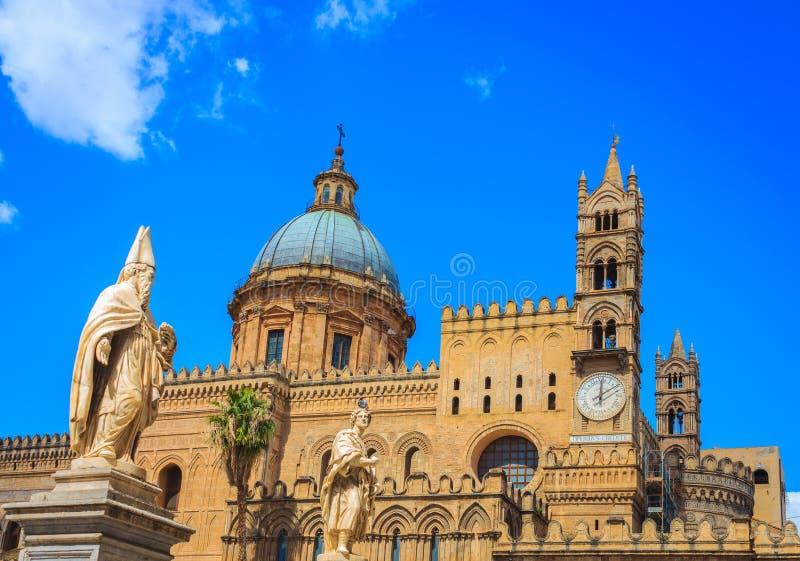 Die Kathedrale von Palermo, Sizilien stockfotografie