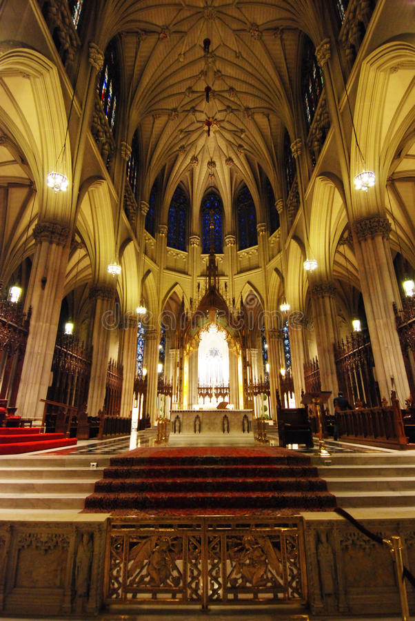 Die Kathedrale von St Patrick lizenzfreie stockbilder