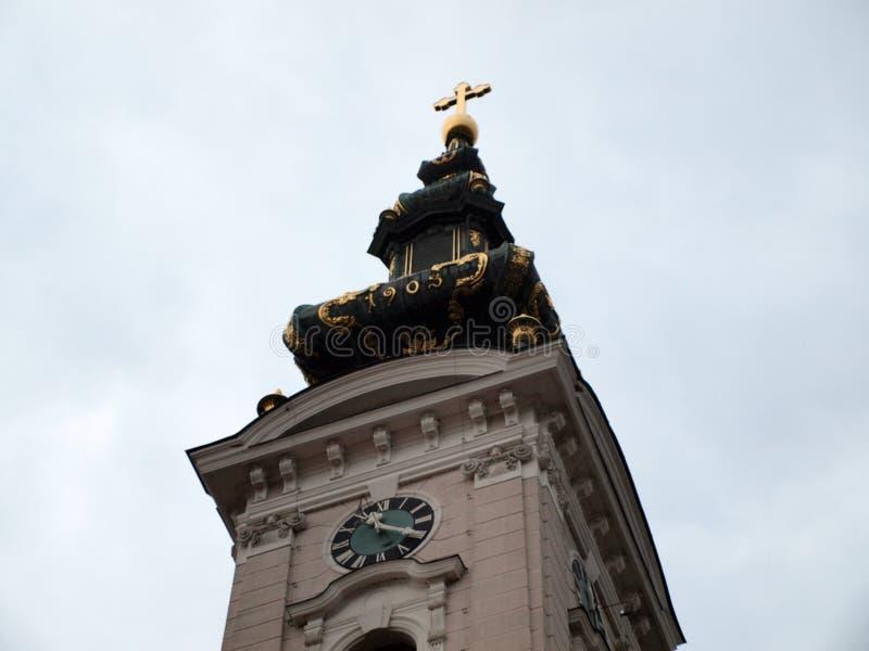 Die Kathedralen-Kirche von St George der große Märtyrer stockbild