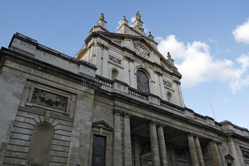 Die katholische Kirche des tadellosen Herzens von Mary in Süd-Kensington stockbild