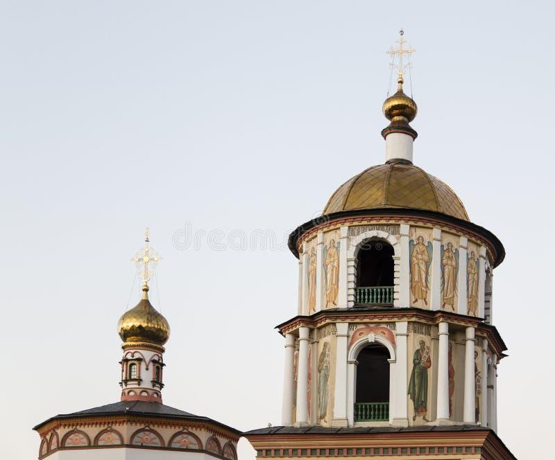 Die Kirche in Irkutsk, Russische Föderation stockfotos