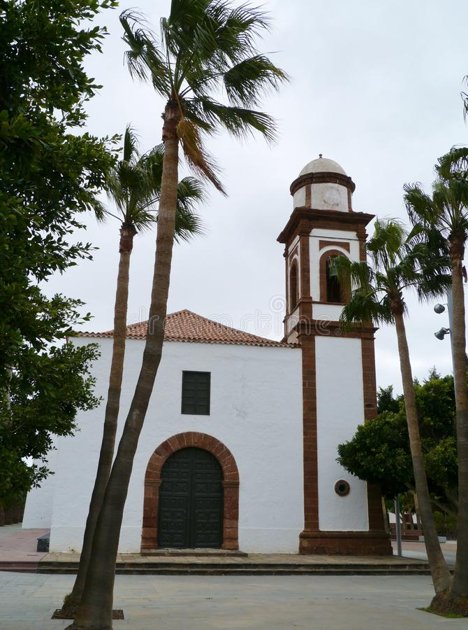 Die Kirche unserer Dame von Antigua lizenzfreie stockbilder