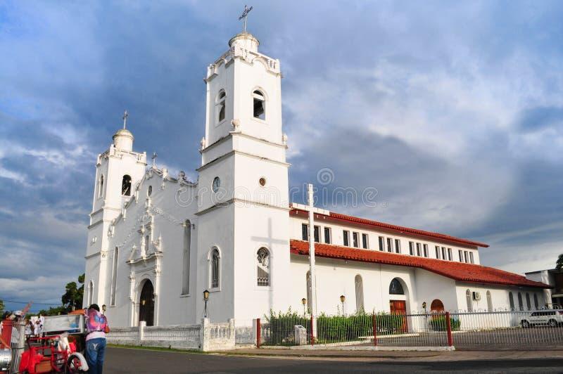 Die Kirche von Saint John bei Penonome, Cocle- Panama lizenzfreie stockfotos