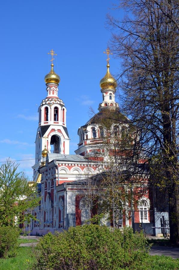 Die Kirche von St. Barbara der große Märtyrer stockfoto
