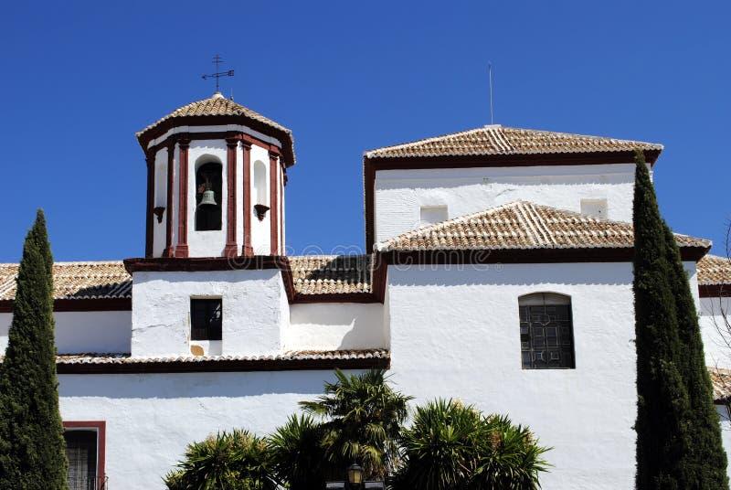 Die Kirche von St Cecilia stockbilder