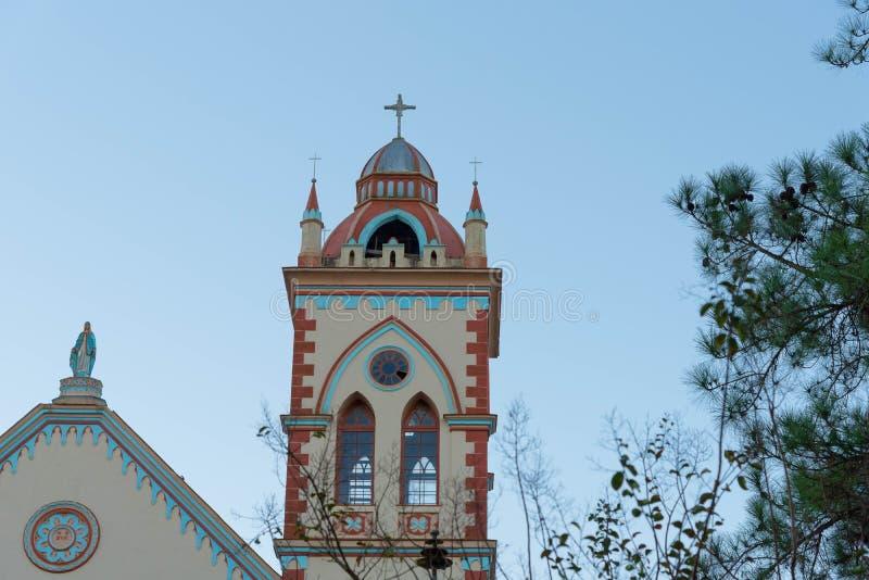 Die Kirchtürme und die heiligen 02 lizenzfreie stockbilder
