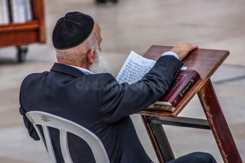 Die Klagemauer von Jerusalem stockfotos