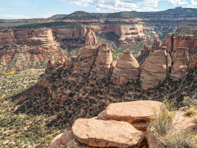 Die Kokerei, Colorado-Nationaldenkmal lizenzfreies stockbild