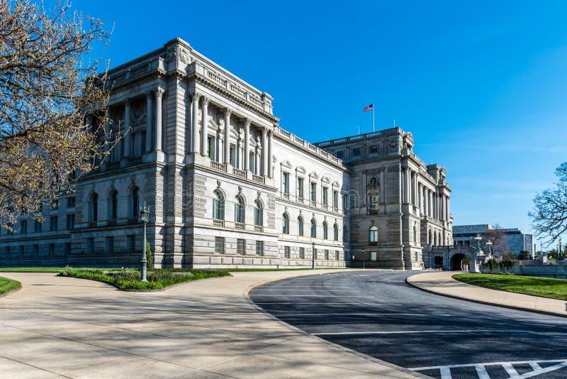 Die Kongressbibliothek in Washington D C stockfotografie