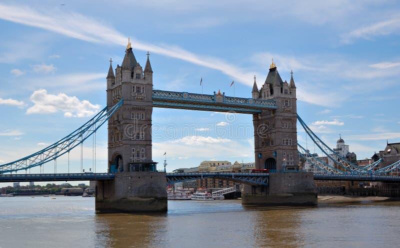 Die Kontrollturm-Brücke in London lizenzfreie stockfotografie